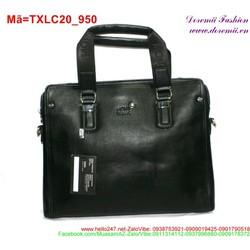 Túi xách laptop thiết kế sang trọng phối khóa kéo