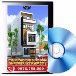 DVD HỌC SKETCHUP VÀ VRAY TỪ CƠ BẢN ĐẾN NÂNG CAO