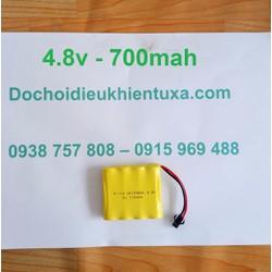 Pin xe ô tô điều khiển từ xa 4.8v 700mah