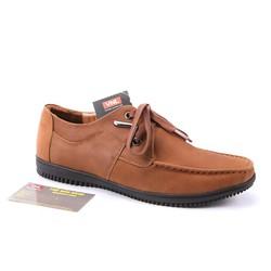 Giày nam da thật cao cấp chính hãng màu nâu VNL4L62B