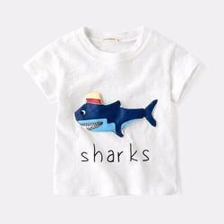 Áo thun cá mập cho bé