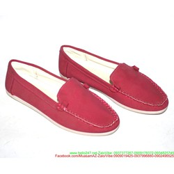 Giày xỏ nữ kiểu dáng thời trang đơn giản sành điệu