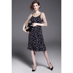 🎉HÀNG NHẬP - Set váy yếm và áo thun nhúng cực đẹp - CK3139350