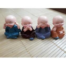 Bộ tứ tiểu Phật - Tài lộc may mắn - giá sỉ, giá tốt