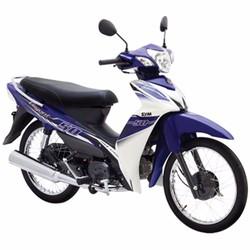 Xe số SYM Elegant 50cc - Xanh trắng  2016