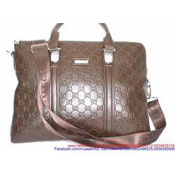 Túi xách laptop hoa văn sành điệu phong cách
