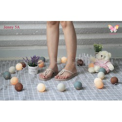 Jenny5 A - DÉP QUAI KẸP KIỂU DÁNG THỜI TRANG CHO NỮ - Kem