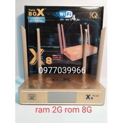 tivi box x8 plus RAM2G DR3