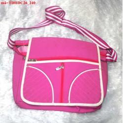 Túi đeo đi học đi chơi sắc hồng nữ tính đáng iu