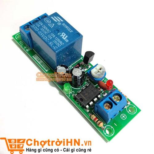 Module Tạo Trễ NE555  Đóng Cắt Relay 5VDC Thời gian 0-60s V1