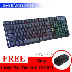 Khuyến Mãi - Bàn Phím Giả Cơ Gaming R8 KB1822 + Tặng Chuột Máy Tính
