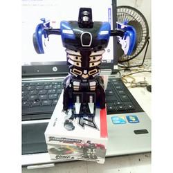 Xe robot biến hình transformer nhỏ