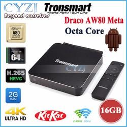 Tivi Box Cao cấp Tronsmart AW80 Meta,Lõi 64 Tặng Chuột Bay Km800