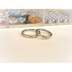 Nhẫn đôi khắc chữ