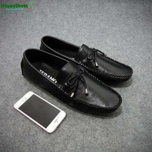 [Fullbox] giày lười nam nơ da thời trang