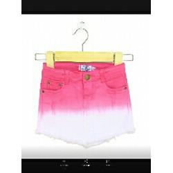 Váy jean bé gái nhúng màu sành điệu size đại
