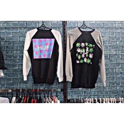áo thun sweater HUF
