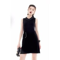 Đầm suông thiết kế 2 túi cá tính