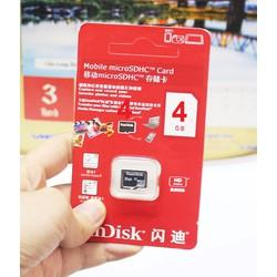 Thẻ nhớ Sandisk 4GB Class 10