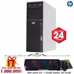 Máy tính chuyên game HP Z400 core i7, Ram 4GB, SSD 120GB, HDD 2TB