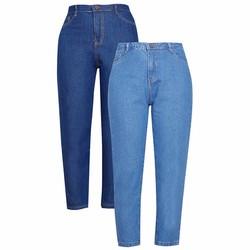 Quần Jeans nữ trơn ống suông WM JEANS 007C