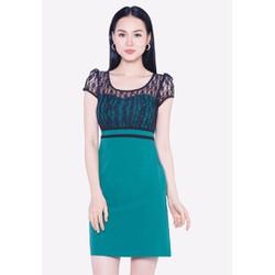 Đầm màu xanh lá