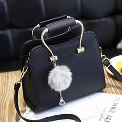 Túi xách quai sắt chất liệu da cao cấp dành cho nữ