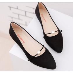 Giày búp bê hạt ngọc chất liệu cao cấp dành cho nữ
