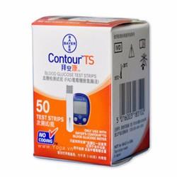 Hộp 50 que thử đường huyết Bayer Contour TS
