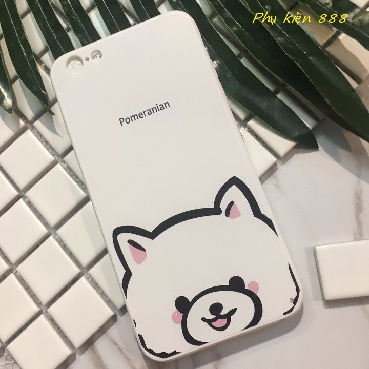 Ốp lưng Iphone 6 plus Pomeranian 1