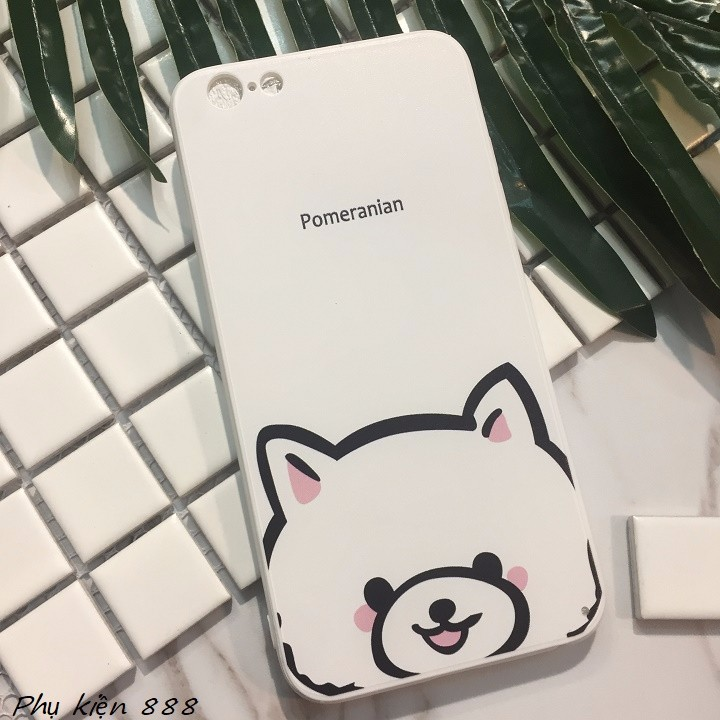 Ốp lưng Iphone 6 plus Pomeranian 3