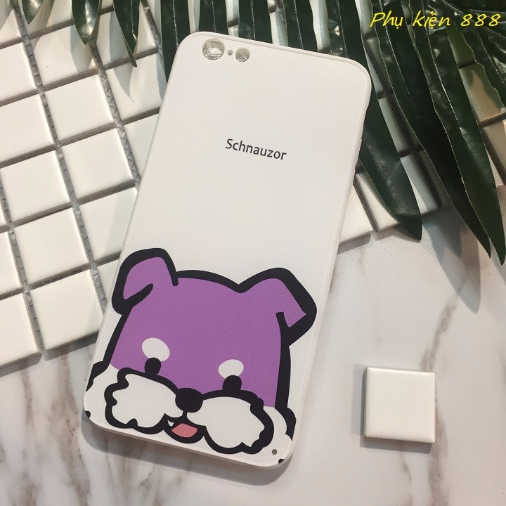 Ốp lưng Iphone 6 Plus Schnauzor 7