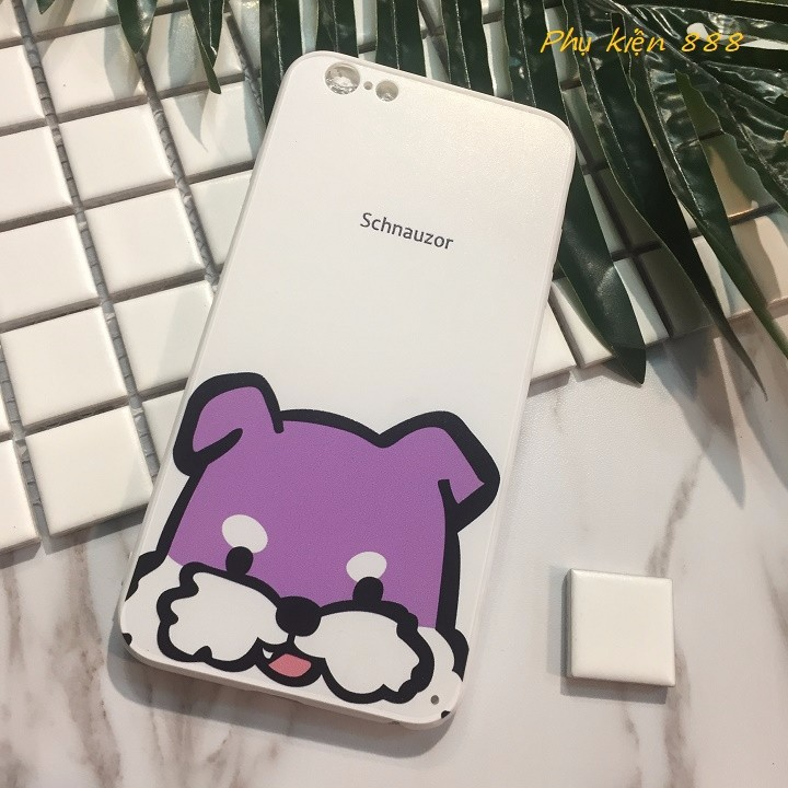 Ốp lưng Iphone 6 Plus Schnauzor 3