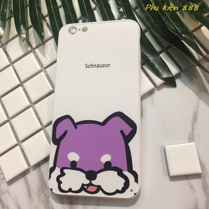 Ốp lưng Iphone 6 Plus Schnauzor 1