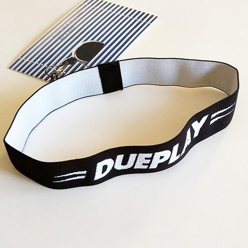 Băng đô thể thao chữ dueplay màu đen cung cấp bởi winwinshop88