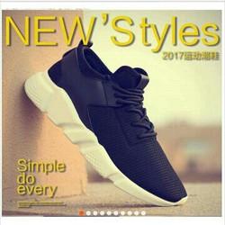 Giày nam thời trang, phong cách năng động, kiểu dáng trẻ
