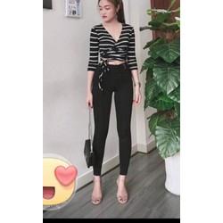 Quần kaki jean nữ cao cấp
