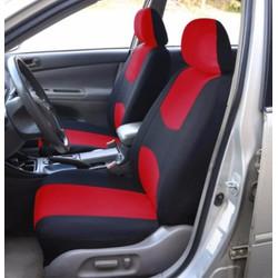Áo trùm ghế ô tô thể thao vải cao cấp polyester - Bộ 2 cái