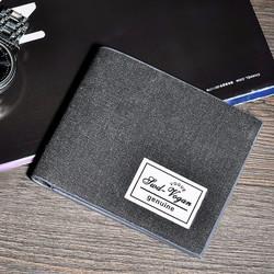 Ví da nam cao cấp SW phong cách Hàn Quốc kiểu ngắn mã kA004