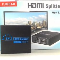 Bộ chia HDMI 1 ra 2 hỗ trợ HDMI 1.4 full HD 1080P FJGEAR HD-102