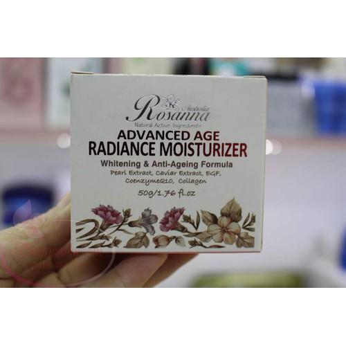 Kem dưỡng trắng và chống lão hóa Rosanna oan toàn cho da