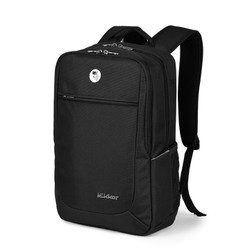 Balo laptop Mikkor The Edwin Backpack Black