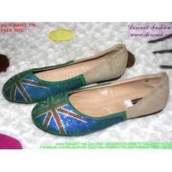 giày búp bê nữ đính hột sành điệu