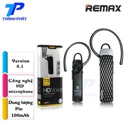 Tai nghe Bluetooth Remax RB-T9 HD  Chính Hãng -Đen
