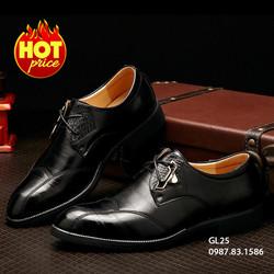 Giày Da Nam Phong Cách Châu Âu