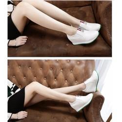 giày slip on độn trong 8p da cao cấp siêu mềm