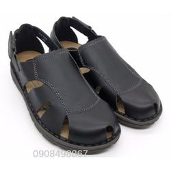 Giày Sandal Nam   Giày Sandal Da Nam đế EVA êm nhẹ