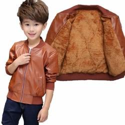 Áo khoác da lót lông