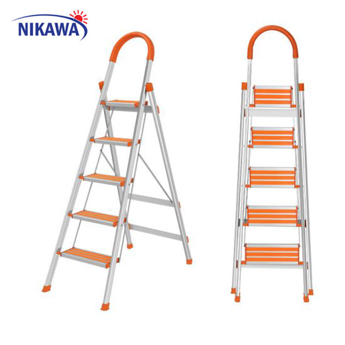 Thang nhôm ghế Nikawa Nhật Bản NKA-05 - 10435658 , 7025505 , 15_7025505 , 1240000 , Thang-nhom-ghe-Nikawa-Nhat-Ban-NKA-05-15_7025505 , sendo.vn , Thang nhôm ghế Nikawa Nhật Bản NKA-05