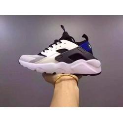 giày thể thao huarache nữ đen trắng